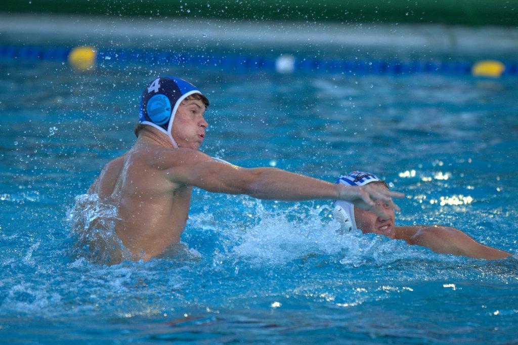 Womens Water polo  Spain vs Hungary Underwater Fight