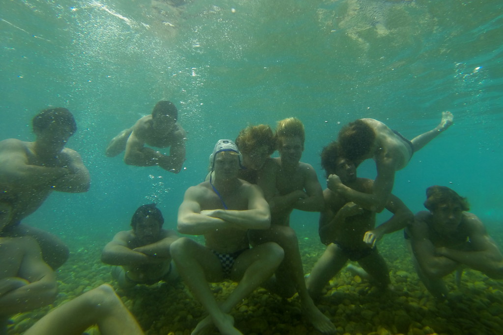 UCT Water polo Tour Hungary 2014 Eger Thermal Outdoor Pool