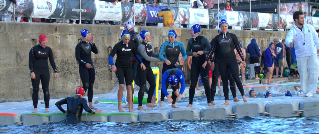 Volvo Ocean Race Extreme Waterpolo Tournament 2014 – V & A Waterfront