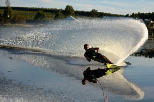 South Afrucan water Skier Travis Fisher