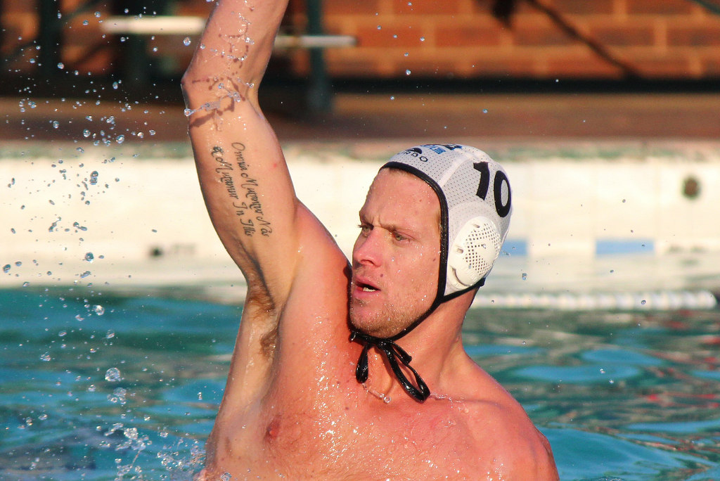 Pierre Le Roux South Africa most capped Springbok water polo player