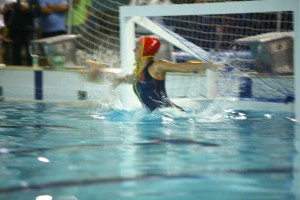 SA Champ Water Polo Goalie Alexandra Gascoigne