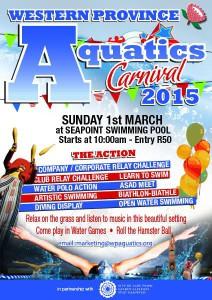 Western Province Aquatics carnival 2015