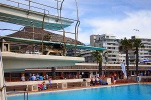 Western Province Aquatics carnival 2015 Seapoint 3m diving board