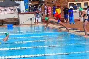 Western Province Aquatics carnival 2015 relay