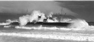 Winton ran aground while transporting a cargo of Australian wheat to Britain