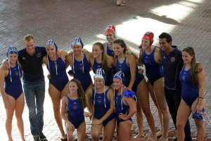 Western Province Girls u18 winners of water polo Curry Cup