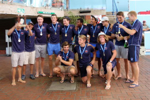 Western Province Mens B winners of the Mens 2nd Division Currie Cup water polo 2015