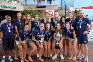 Western Province Ladies A winners of Ladies division water polo Currie Cup 2015