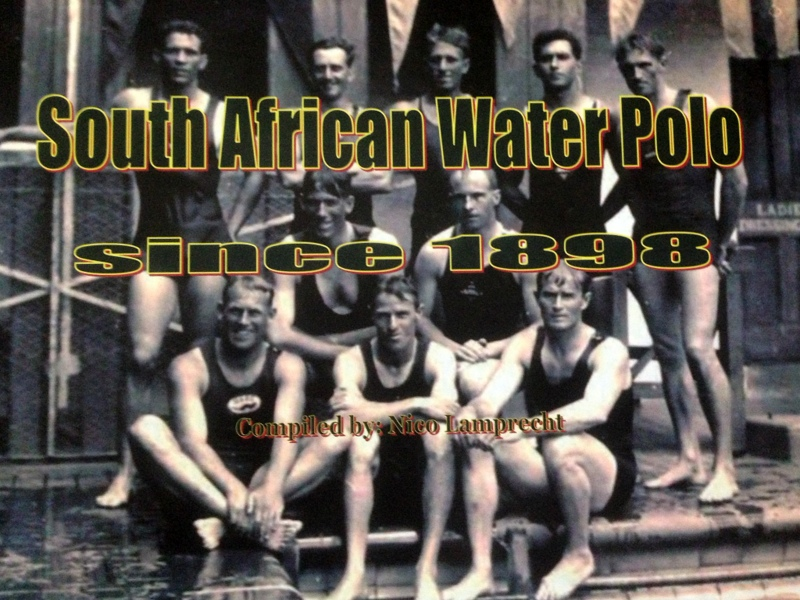 South African Water Polo since 1898