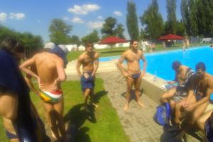 UCT Hungary Tour 2014 BVSC Waterpolo Club