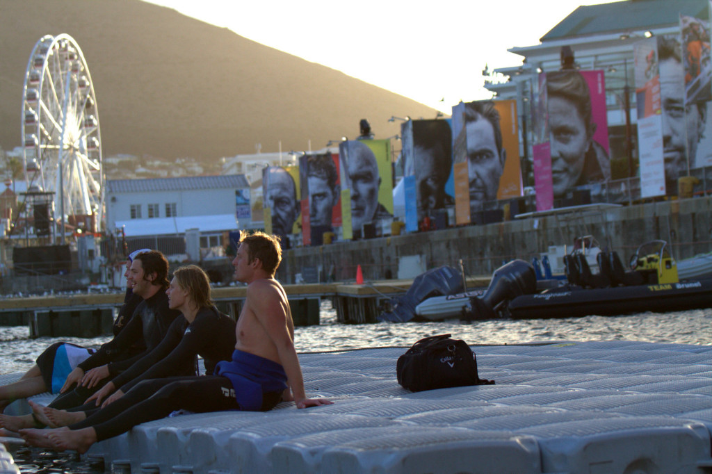 Volvo Ocean Race 2014 cape Town V & A Waterfront Extreme Waterpolo Tournament