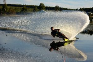 South Afrucan water Skier Travis Fisher