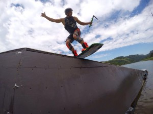 2015 Annual Red Bull Umtamvuna Lodge wakeboard wakeskate Backyard Sessions event