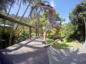 2015 Annual Red Bull Umtamvuna Lodge skating Backyard Sessions event