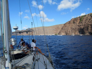 Cool Runnings sails back from St Helena to Cape Town