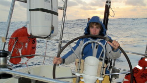 Travis at the helm Cool Runnings Govenors Cup