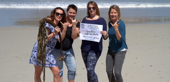 Amanzi Magazine takes the Surfer's Pledge with SA's own ocean watch ambassador