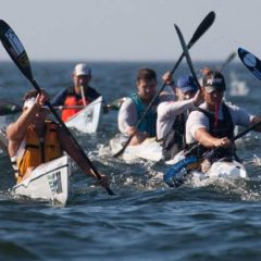 2 Harbours Surfski Race – Fish Hoek Beach