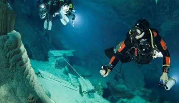 Cave Diving – boldly going where no man has gone before