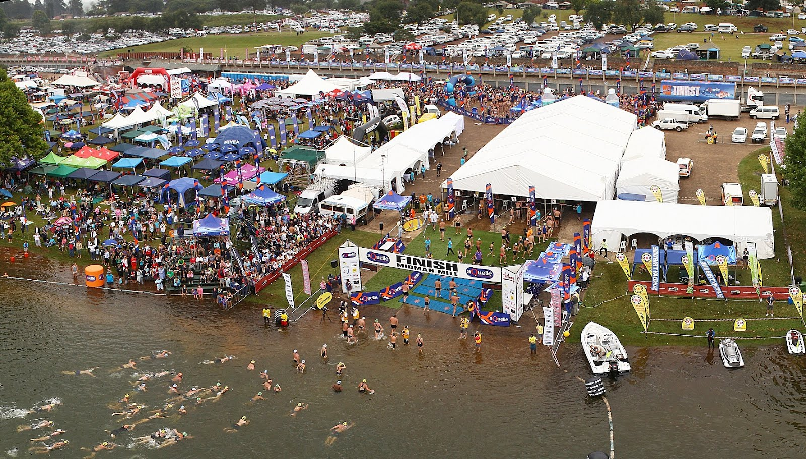 midmar mile swimming