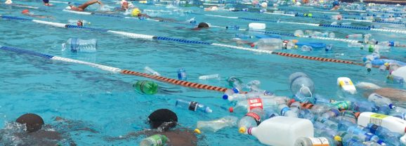 School teaches a lesson on plastic pollution