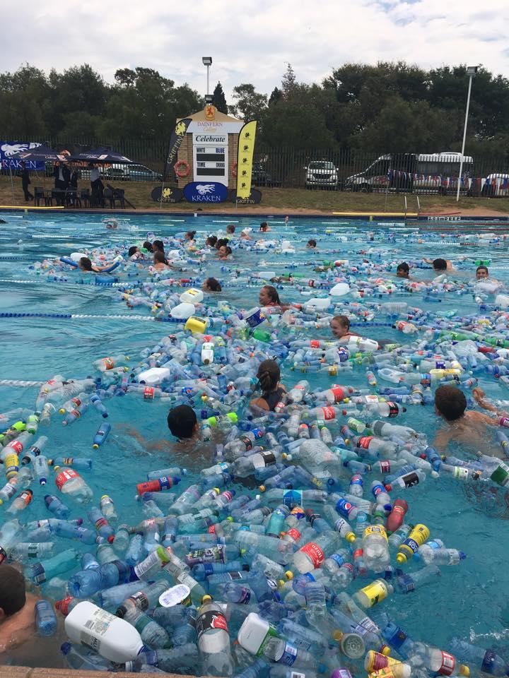 Dainfern swimathon plastic awareness