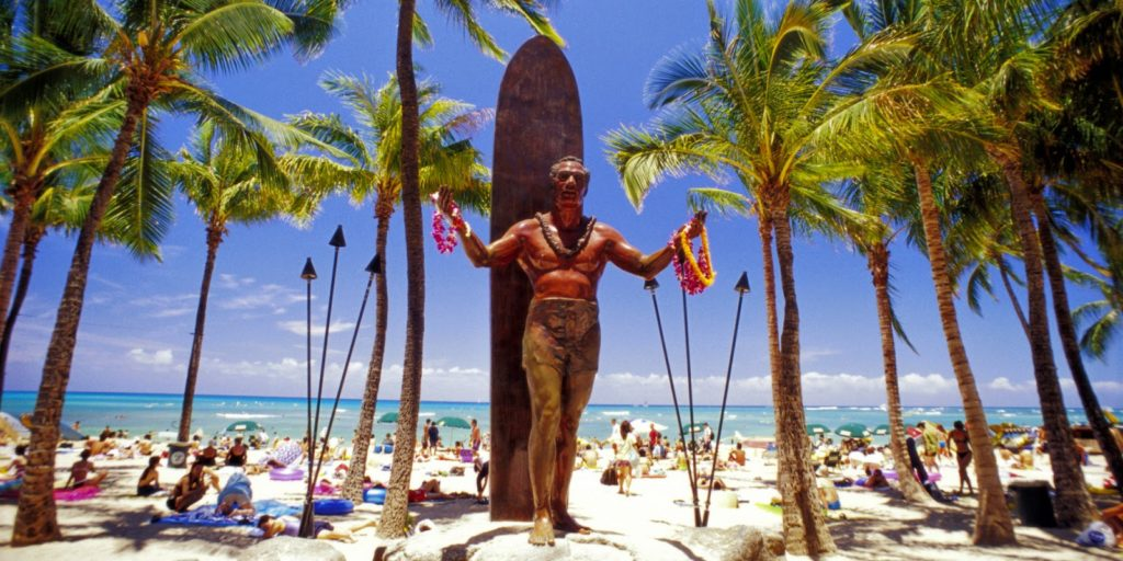 longboarding surfing duke_kahanamoku_beach_wallpaper