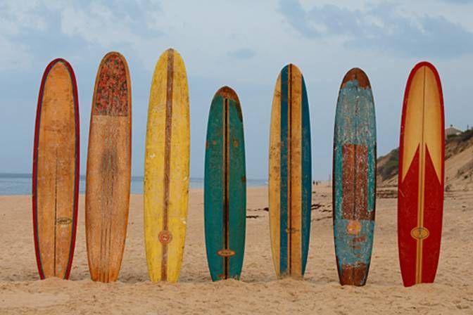 longboarding surfing