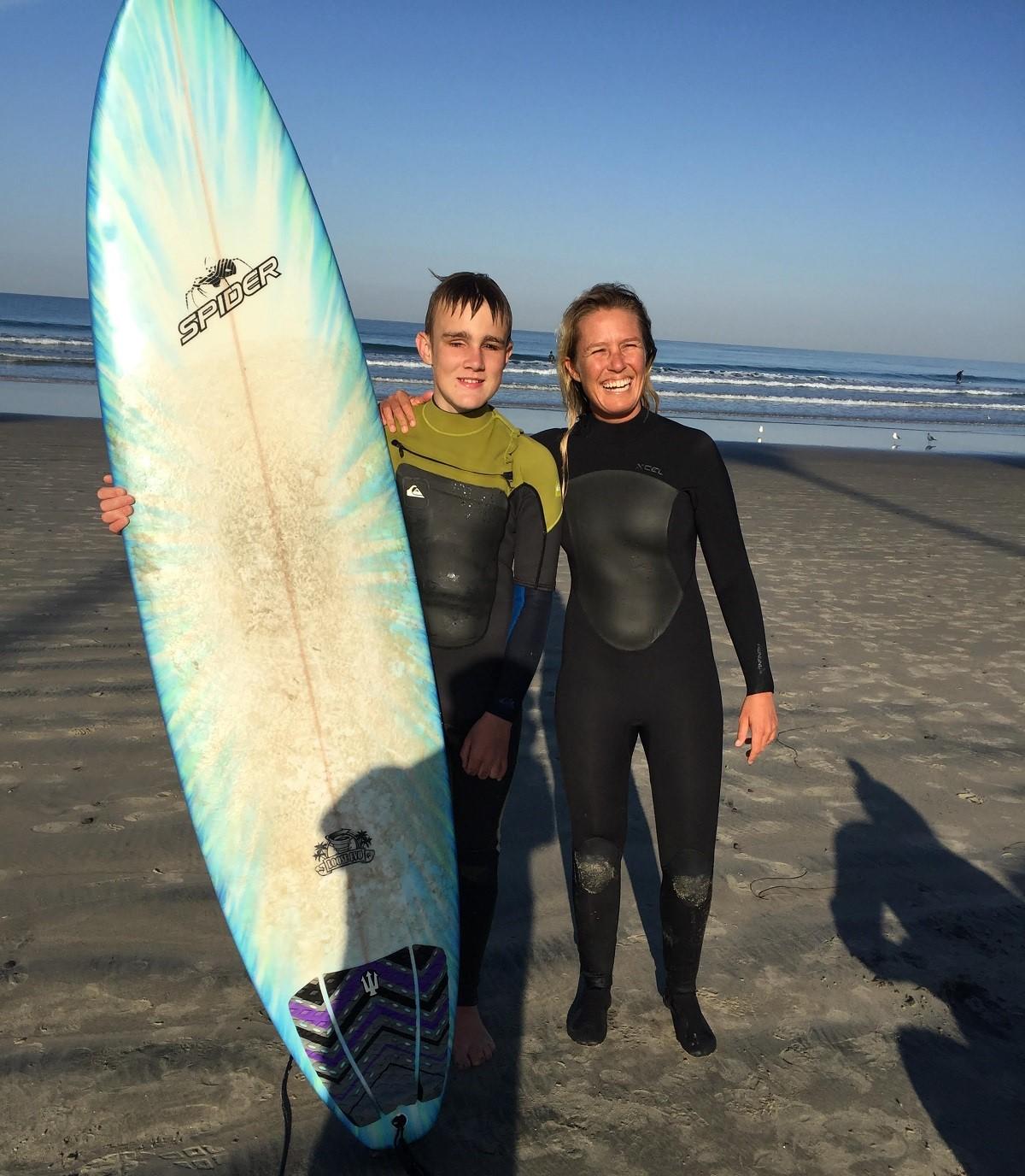 Adaptive Surfing Erynn Geddie_Blind Surfer