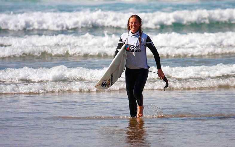 Tasha Adaptive Surfing