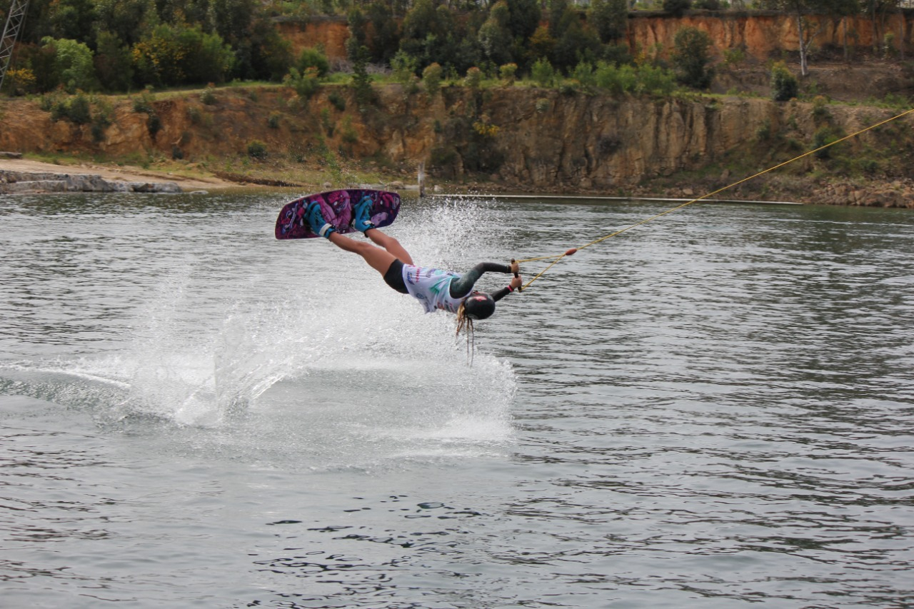 Wakeboarding Megan