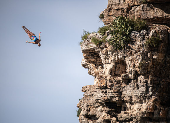 What the Azores, cliff diving and making history have in common
